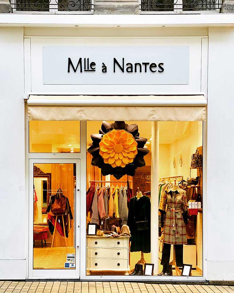 Boutique créateurs vetements chaussures sacs Mlle à Nantes centre ville